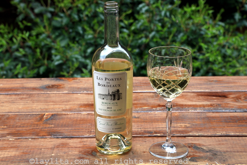 Portes de Bordeaux Sauvignon Blanc white wine review